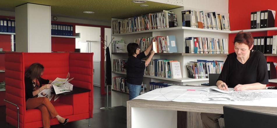 Le centre de documentation convivial facilite l'accès à l'information
